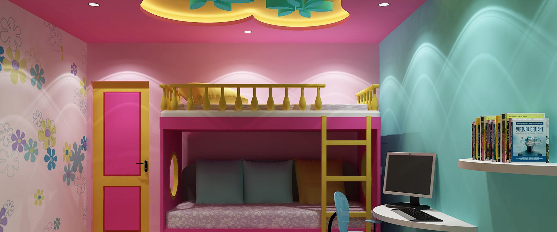 طرح کناف برای اتاق کودک